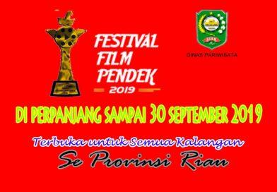 Buruan!!! Ikuti festival Film Pendek yang digelar oleh Dinas Pariwisata Kab Siak