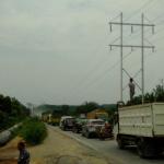 Mulai 18 Desember Arus Lalu Lintas Dari dan Ke Siak Diberlakukan Satu Arah, Dampak Pembangunan Jembatan Kuala Gasib Dan Libur Nasional.