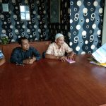 Perdana, Bapekam Langkai Sampaikan Laporan Kinerja Tahunan Kepada Pemkab Siak