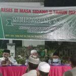 Dengan Penerapan Prokes, Muhtarom Gelar Reses III, Sidang II Tahun 2021.